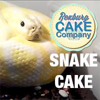 Snake Cake from Rexburg Cake Company